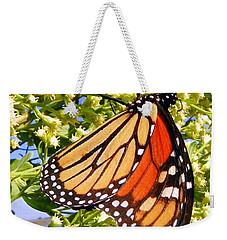 Monarch An Wildflowers Weekender Tote Bag