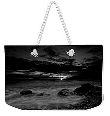 Weekender Tote Bag featuring the photograph Monochrome Sunset  by Beverly Cash