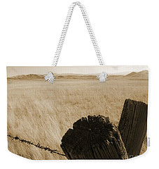 Weekender Tote Bag featuring the photograph Montana Vista by Bruce Patrick Smith