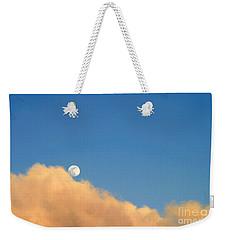 Moon At Sunset Weekender Tote Bag