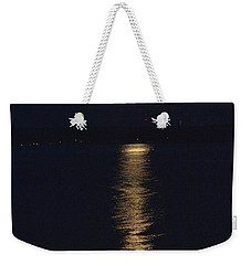 Moon Over Seneca Lake Weekender Tote Bag