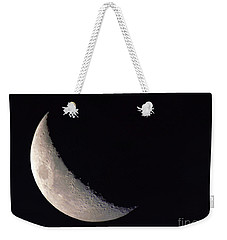 Moon Shadow Weekender Tote Bag