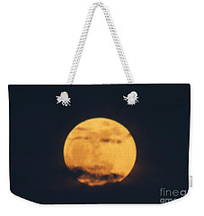 Weekender Tote Bag featuring the photograph Moon by William Norton