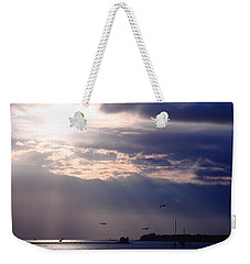 Moonlight Flight Weekender Tote Bag