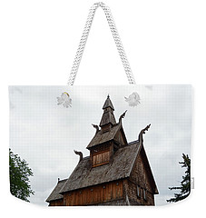 Moorhead Stave Church 26 Weekender Tote Bag