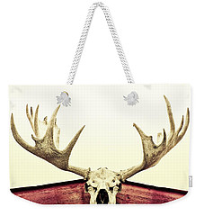 Moose Trophy Weekender Tote Bag by Priska Wettstein
