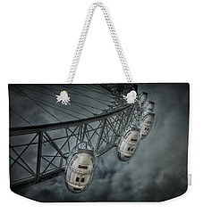 More Then Meets The Eye Weekender Tote Bag by Evelina Kremsdorf