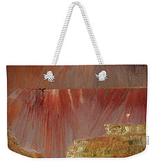 Weekender Tote Bag featuring the photograph Morenci Mine by Vicki Pelham