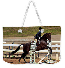 Morgan Jumping Weekender Tote Bag