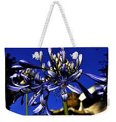 Weekender Tote Bag featuring the photograph Morning Blooms by Clayton Bruster