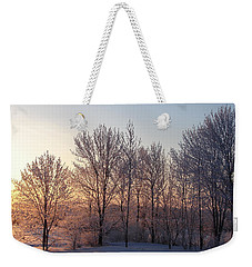 Morning Break Weekender Tote Bag