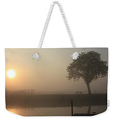 Morning Calm Weekender Tote Bag by Linsey Williams
