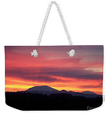 Morning Glow Weekender Tote Bag by Chalet Roome-Rigdon