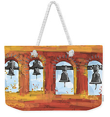 Morning Mission Bells Weekender Tote Bag