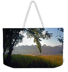 Morning On The River Weekender Tote Bag by Kay Lovingood