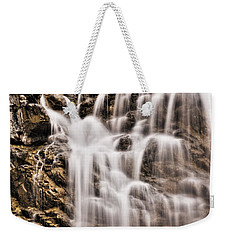 Weekender Tote Bag featuring the photograph Morrell Falls 1 by Janie Johnson