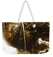 Weekender Tote Bag featuring the photograph Morrell Falls 3 by Janie Johnson
