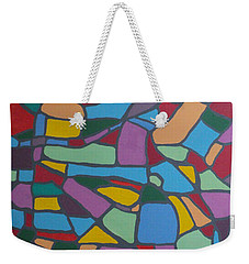 Mosaic Journey Weekender Tote Bag