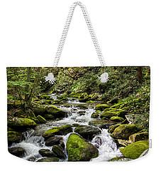 Mossy Creek Weekender Tote Bag by Ronald Lutz