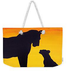 Mother Africa 3 Weekender Tote Bag by Michael Cross