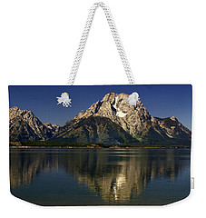 Weekender Tote Bag featuring the photograph Moujnt Moran 5 by Marty Koch