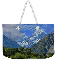 Weekender Tote Bag featuring the photograph Mount Cook by David Gleeson