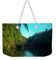 Mount Taranaki Aka Mt Egmont New Zealand Weekender Tote Bag