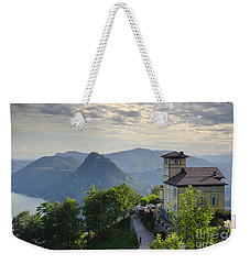 Mountain Bre Weekender Tote Bag