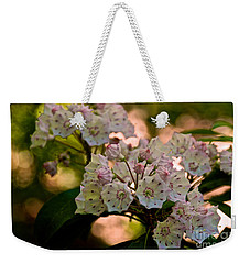 Mountain Laurel Flowers 2 Weekender Tote Bag