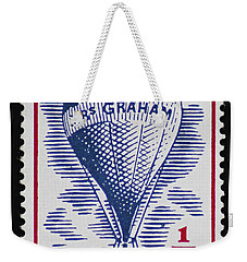 Weekender Tote Bag featuring the photograph Mrs Graham The Balloonist by Andy Prendy