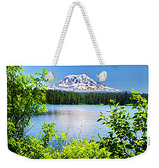 Mt Adams And Takhlakh Lake Weekender Tote Bag