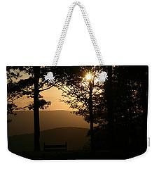 Mt Pisqah Sunset Weekender Tote Bag