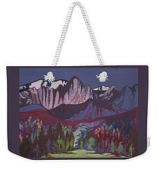 Mt Whitney Weekender Tote Bag