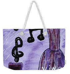 Music In My Glass Weekender Tote Bag