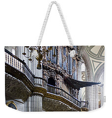 Weekender Tote Bag featuring the photograph Music On High by Lynn Palmer