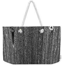My Fence Weekender Tote Bag by Bill Owen