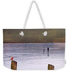 My First Walk On Water Weekender Tote Bag
