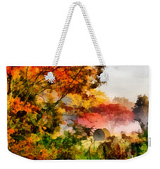 My Front Yard Weekender Tote Bag by Lynne Jenkins