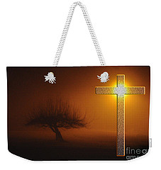 Weekender Tote Bag featuring the photograph My Life In God's Hands by Clayton Bruster