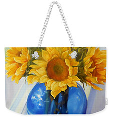 My Sunflowers Weekender Tote Bag