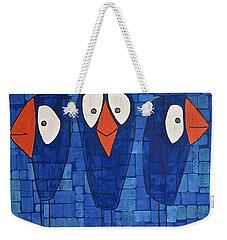 My Three Birds Weekender Tote Bag