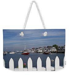 Nantucket Harbor Weekender Tote Bag