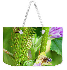 Weekender Tote Bag featuring the photograph Natural Bouquet by Pedro Cardona