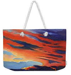 Natural Light Weekender Tote Bag