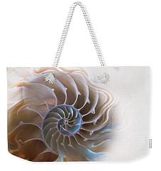 Natural Spiral Weekender Tote Bag