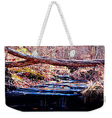 Weekender Tote Bag featuring the photograph Natural Spring Beauty  by Peggy Franz