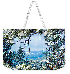 Weekender Tote Bag featuring the photograph Natural Wreath by Shannon Harrington