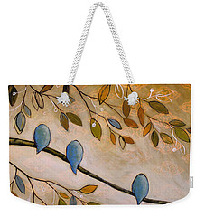 Nature Birds Painting...peaceful Garden Weekender Tote Bag