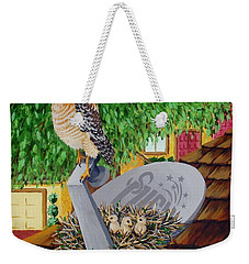 Nature Channel- Red Shouldered Hawk Weekender Tote Bag