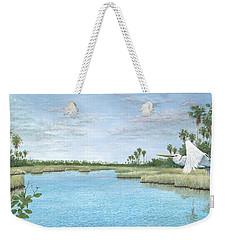 Nature Coast Weekender Tote Bag